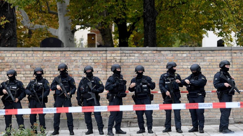 Attaque terroriste contre une synagogue de l'est