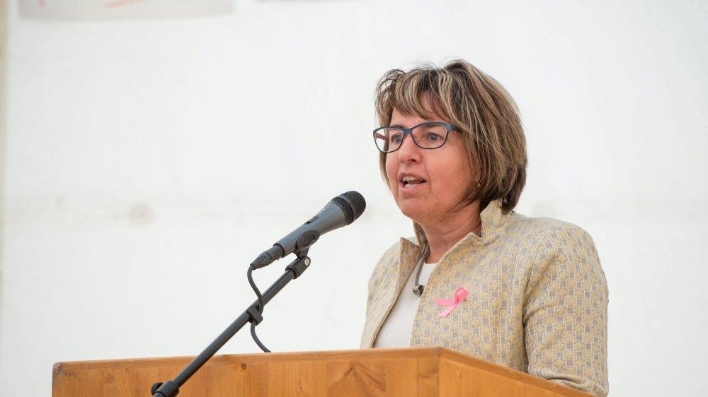 L'ancienne conseillère d'Etat Elisabeth Baume-Schneider fait figure de favorite pour l'un des deux sièges jurassiens au Conseil des Etats.