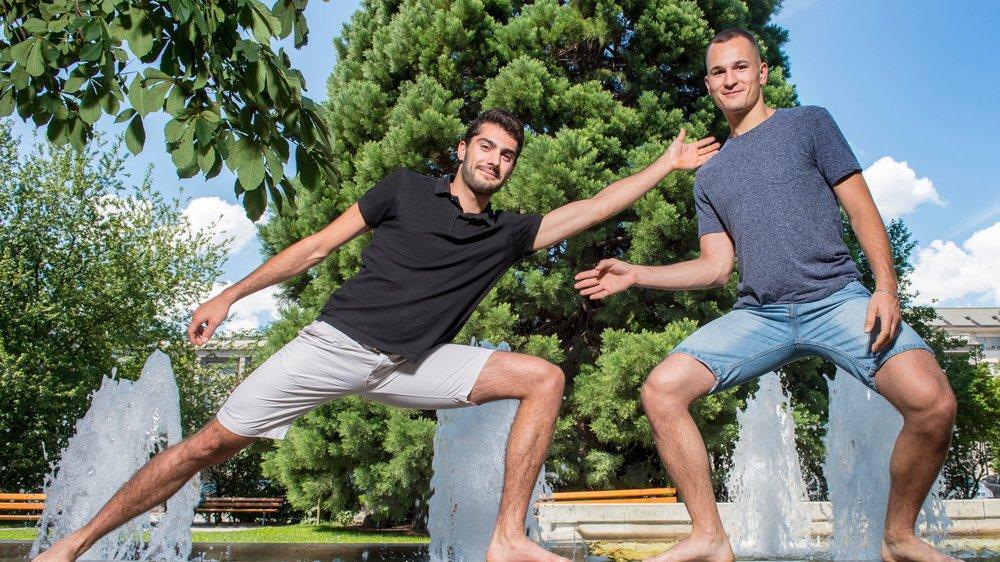 Alexis Bayard et Lucas Malcotti font régulièrement équipe depuis quelques mois. Ils étaient champions d'Europe U23 en 2018.