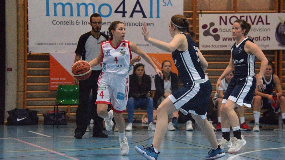 Nadia Délétroz et le Martigny Basket s'élancent dans cette nouvelle saison avec une équipe rajeunie.