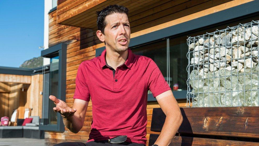 Steve Morabito a grandi à Troistorrents. Il est établi depuis plusieurs années à Granges. Il a de grandes ambitions pour le Valais.