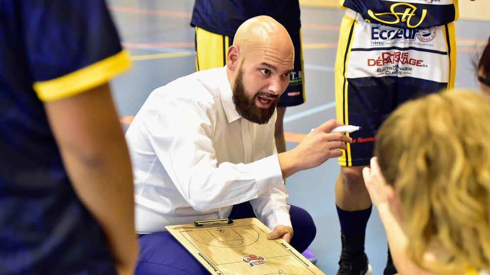 Pour la troisième saison de rang, Antoine Mantey sera à la tête de l'équipe bas-valaisanne.