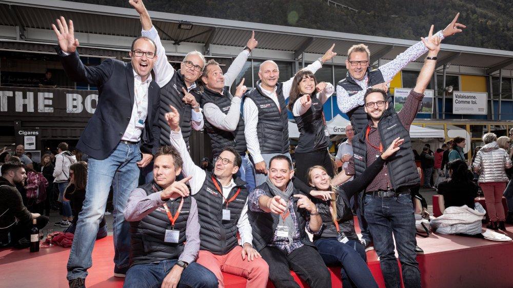 Le comité d'organisation de la Foire du Valais et son directeur jubilent à la fin d'une édition réussie avec mention.