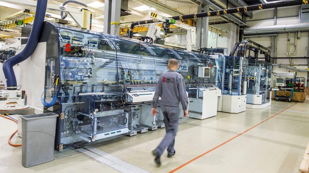 L'entreprise AISA à Vouvry fabrique des lignes de conditionnement automatique vendues dans le monde entier.