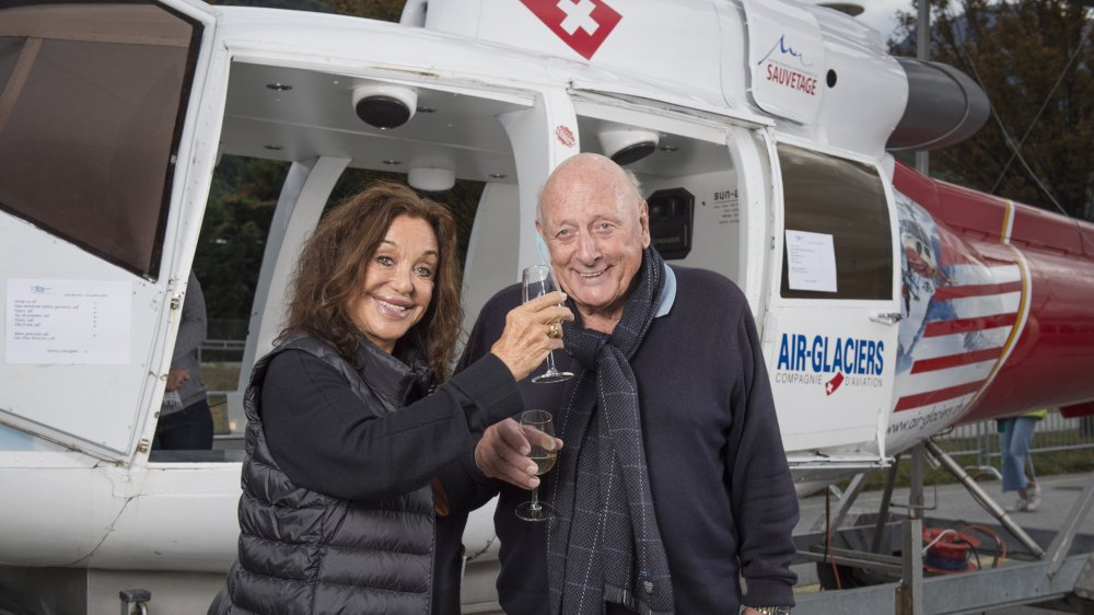 Albina du Boisrouvray et Bruno Bagnoud ont toujours été proches. Ils ne cachent pas leur fierté d'avoir prolongé les valeurs de leur fils grâce à l'association.