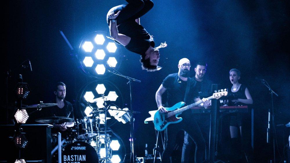 Sur scène, Bastian Baker n'économise pas son énergie, comme le public de Grône pourra le constater samedi soir.
