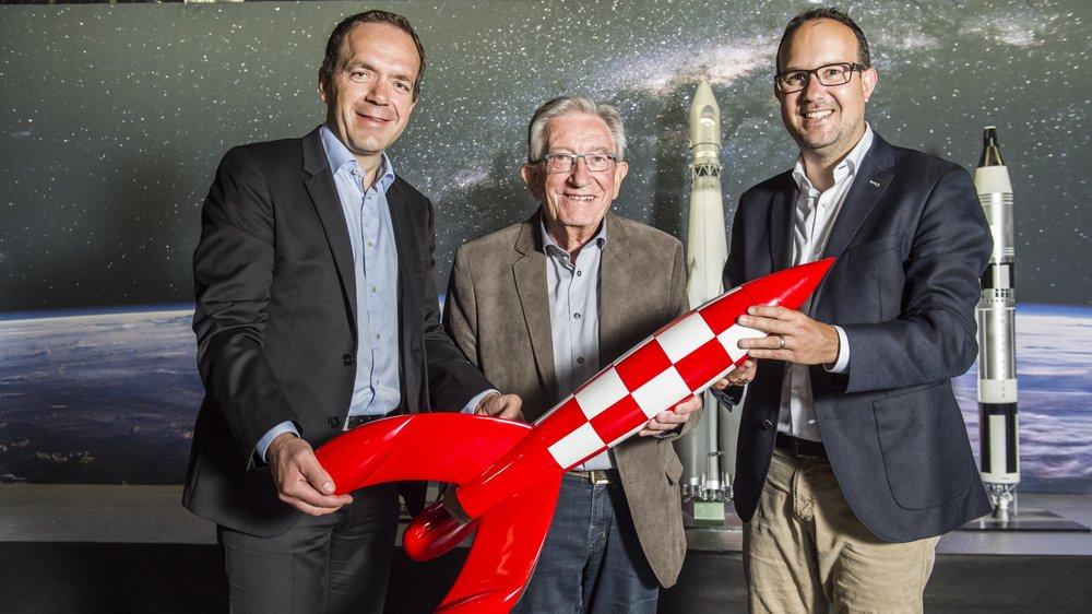Les 60 ans de la Foire du Valais évoqués par les trois directeurs qui se sont succédé à sa tête: Raphaël Garcia, André Coquoz et David Genolet.