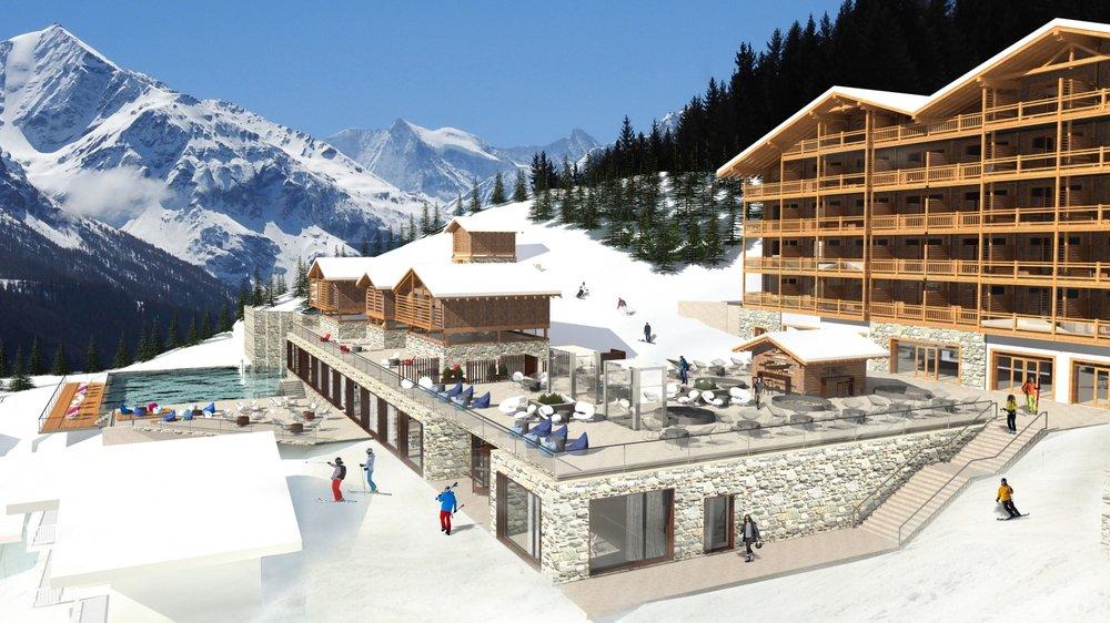 Changement d'actionnariat pour le projet Dixence Resort aux Masses, à Hérémence.