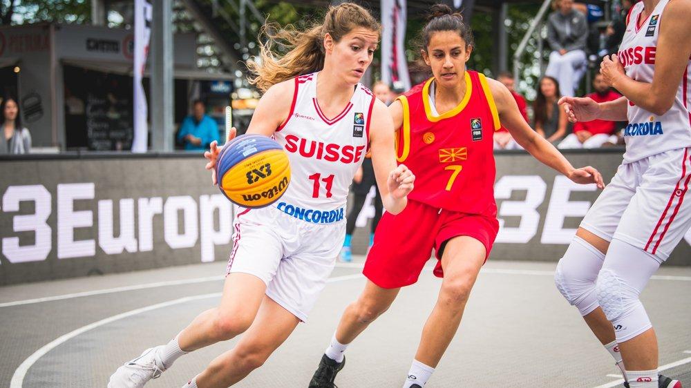La basketteuse du BBC Troistorrents Eva Ruga a récemment défendu les couleurs de l'équipe suisse, tout comme la Martigneraine Marielle Giroud, une habituée de ce genre d'événements.