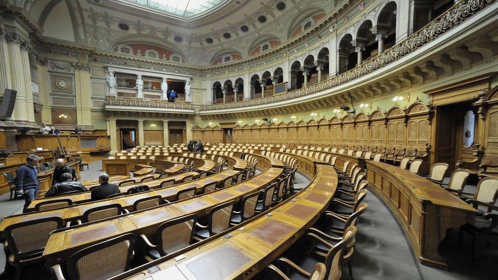 Pas de poteaux mais des sièges sur lesquels s'asseoir à Berne pour ceux qui prendront le dessus sur le colistier adversaire.