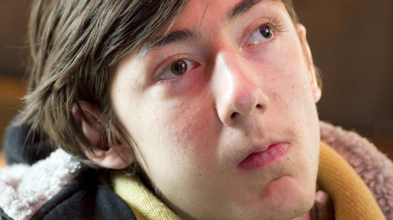 Luca Mongelli est aveugle et tétraplégique depuis le drame.