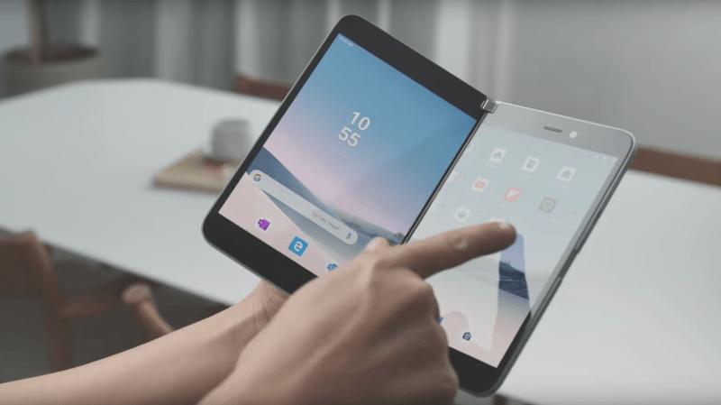 L'annonce du Surface Duo de Microsoft a été une surprise totale.