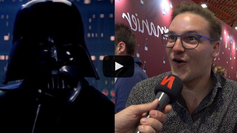 Décalé: quand on apprend aux visiteurs que Dark Vador est leur père... Star Wars s'invite à la Foire