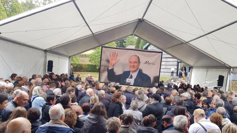 France: derniers adieux à Jacques Chirac sur ses terres en Corrèze