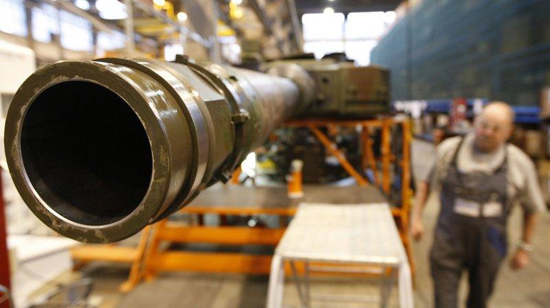 Le Groupe pour une Suisse sans armée a lancé une initiative visant à interdire le financement des producteurs de matériel de guerre dans le monde. (Illustration)