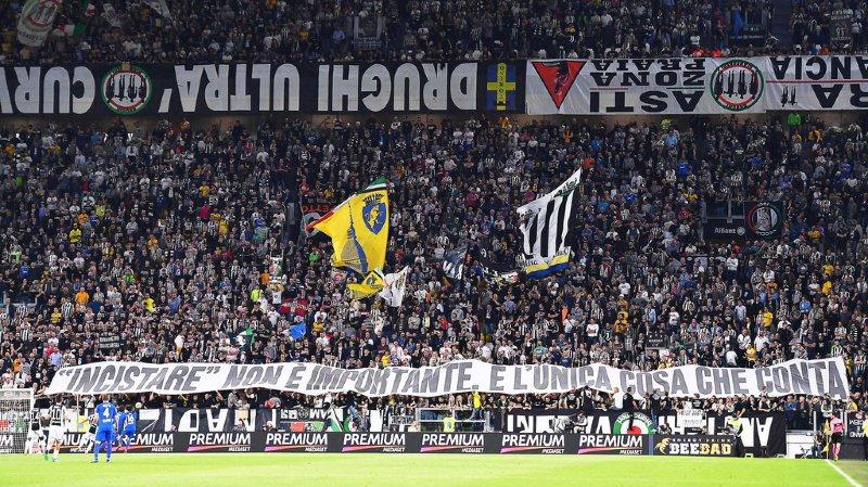 Football: 10 ans d'interdiction de stade pour 38 ultras de la Juventus