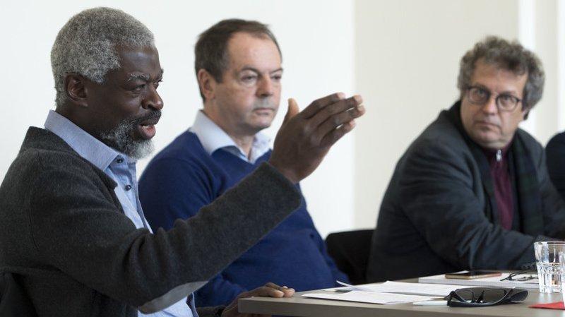 Michel Agnant à gauche et Jérôme Christen à droite.