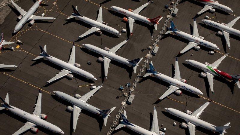 Transport aérien: pas encore de date pour le retour du Boeing 737 MAX dans le ciel