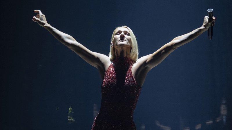 """Céline Dion a lancé sa tournée mondiale baptisée """"Courage"""". Elle s'arrêtera à Nyon."""