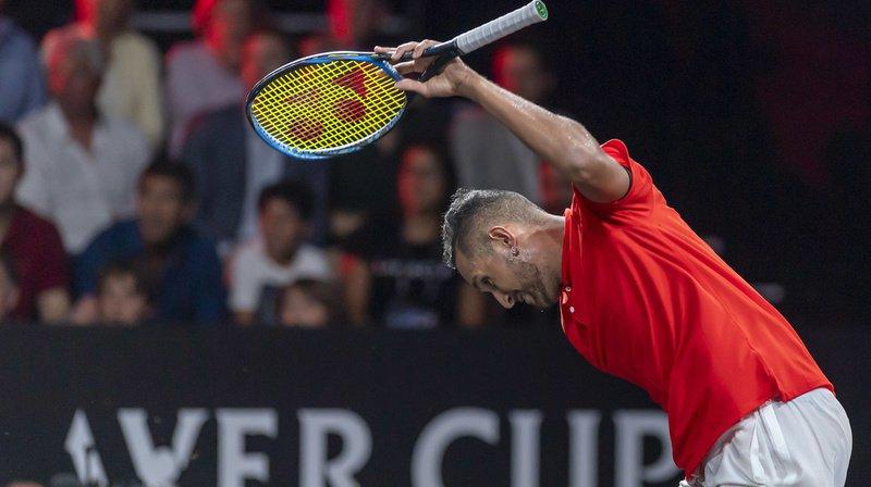 Tennis: l'Australien Nick Kyrgios suspendu 16 semaines avec sursis pour son mauvais comportement
