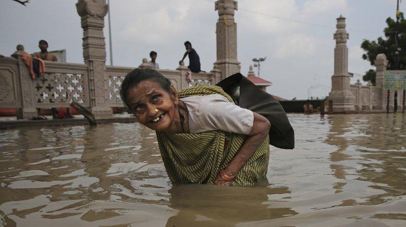 Inde: les inondations ont fait près de 100 morts, 650 victimes depuis le début de la mousson
