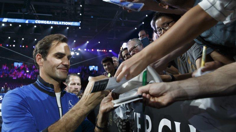 Tennis – Laver Cup: Federer est «content d'avoir pu présenter au public genevois et suisse des légendes du tennis»