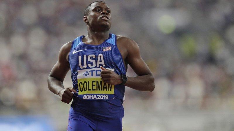 Athlétisme - Mondiaux de Doha: Christian Coleman champion controversé du 100 m