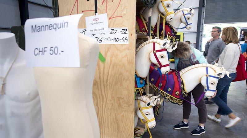 Fête des Vignerons: la vente des objets a fait un tabac