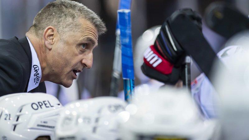 Hockey sur glace: Fribourg Gottéron limoge son entraîneur Mark French