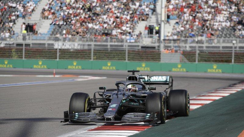 Lewis Hamilton a une nouvelle fois dompté le circuit de Sotchi.