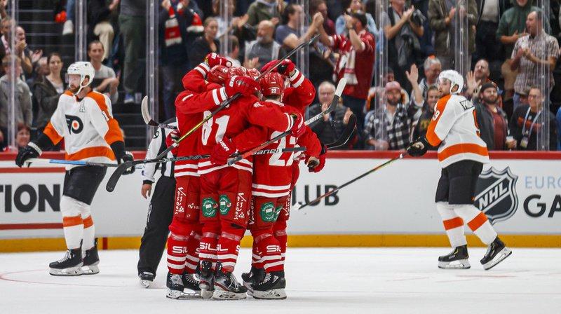 Hockey: Le Lausanne HC bat les Philadelphia Flyers 4 à 3