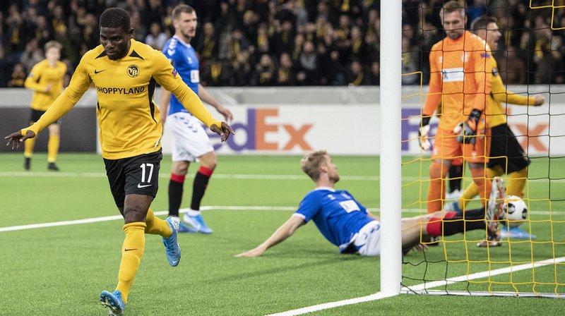 Football – Europa League: les Young Boys ont battu les Glasgow Rangers à la dernière minute