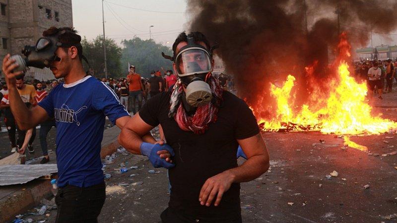 Irak: les forces de sécurité tirent sur des manifestants à Bagdad