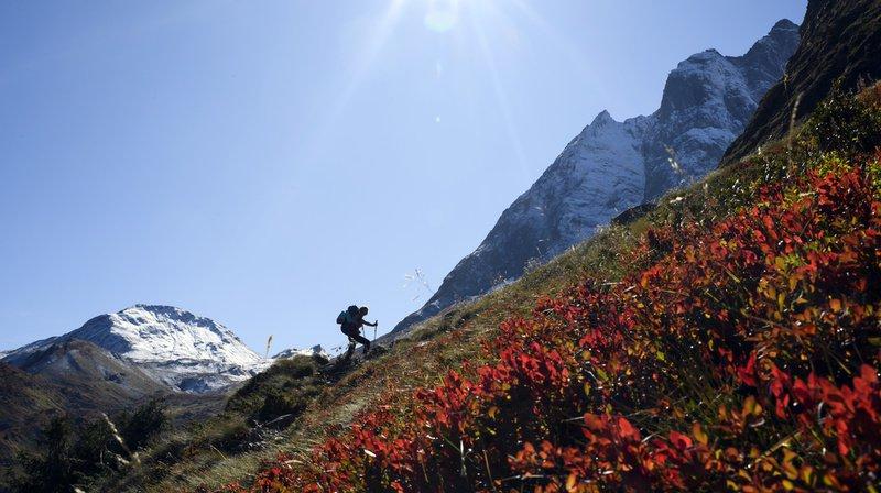 Ce week-end, il fera chaud en montagne. De quoi ravir les amateurs de randonnées. (Illustration)