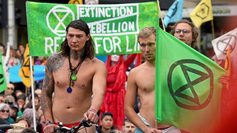 Des activistes ont été arrêtés en Australie.