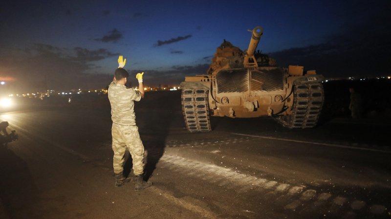 Syrie: la Turquie annonce la mort d'un premier soldat dans l'offensive contre les Kurdes