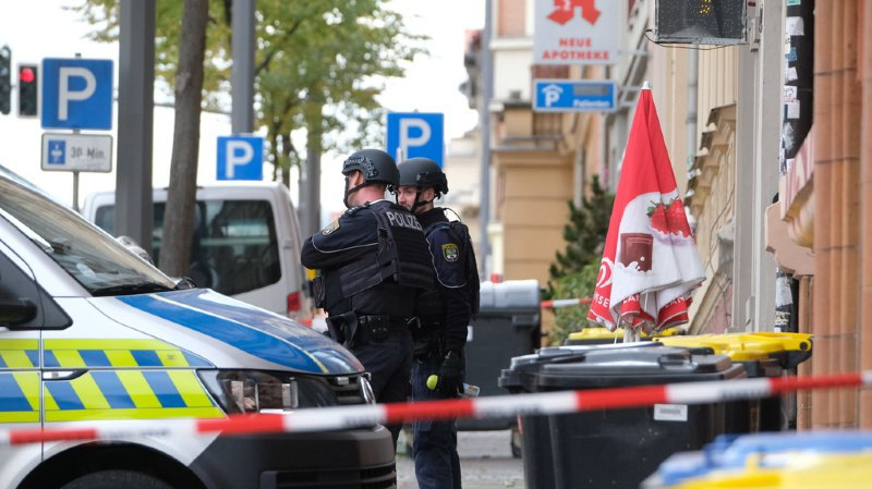 Allemagne: 2 morts dans une tentative d'attaque d'une synagogue à Halle