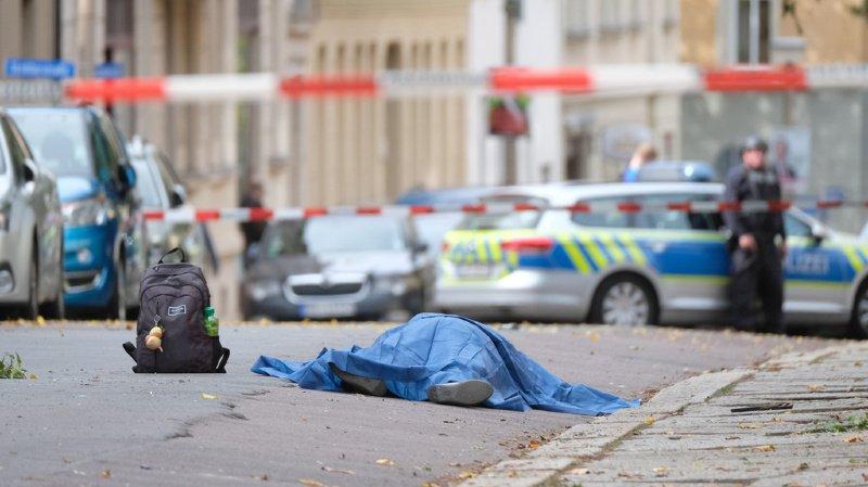 L'attentat de Halle a fait deux morts et deux blessés graves. L'assaillant, proche de l'extrême-droite, visait une synagogue.