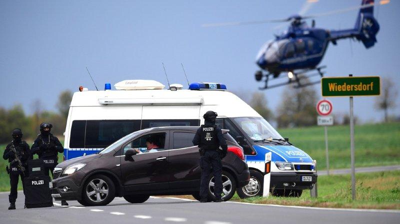 La police allemande met tout en oeuvre pour tenter de retrouver le fugitif.