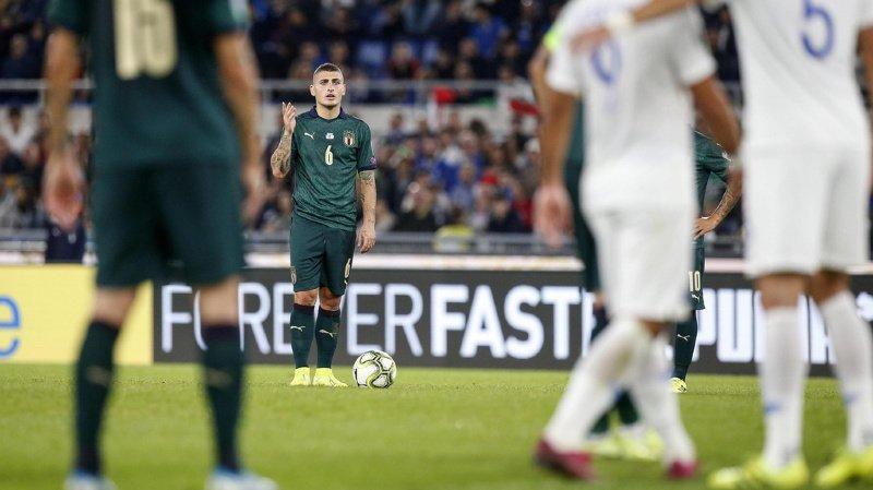 Football – Euro 2020: l'Italie qualifiée, l'Espagne accrochée