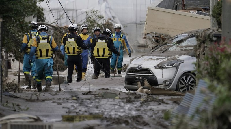 Japon: le bilan du typhon Hagibis s'aggrave à près de 70 morts