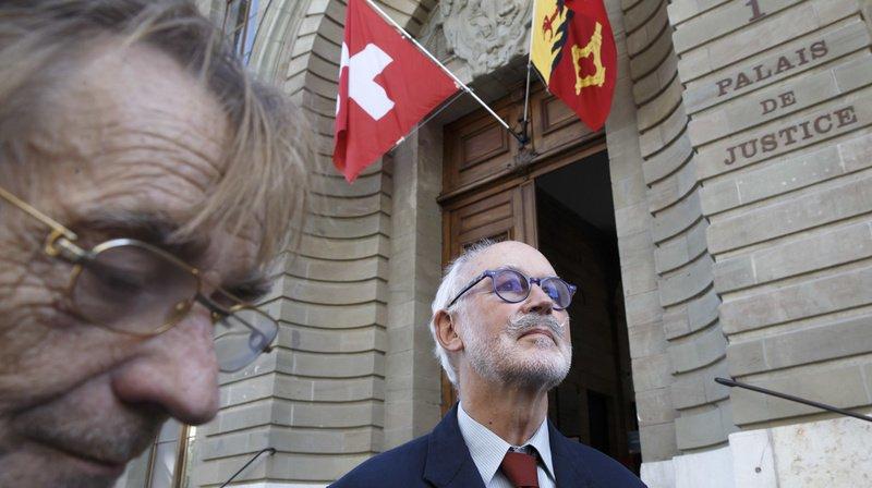 Pierre Beck, médecin et vice-président d'Exit Suisse romande, a été condamné.