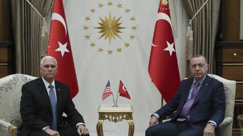 Syrie: Washington arrache une trêve à Erdogan et permet peut-être la fin du conflit