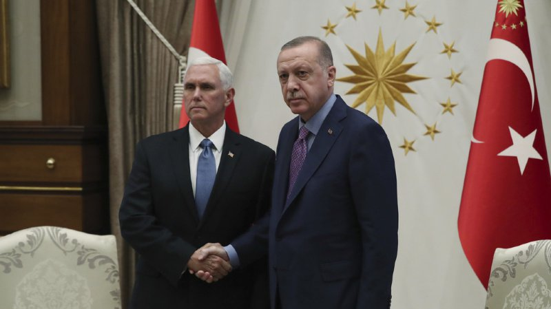 Mike Pence et Recep Tayyip Erdogan ont finalement trouvé un accord.