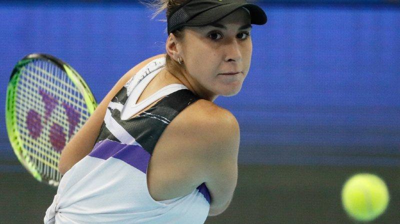 Belinda Bencic a éliminé la Française Kristina Mladenovic en demi-finale.