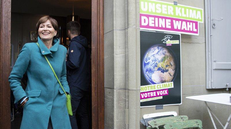 Fédérales 2019: les Verts évoquent désormais un siège au Conseil fédéral
