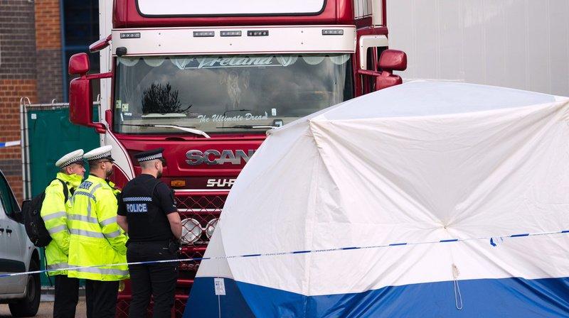 Corps découverts dans un camion près de Londres: les victimes étaient des ressortissants chinois