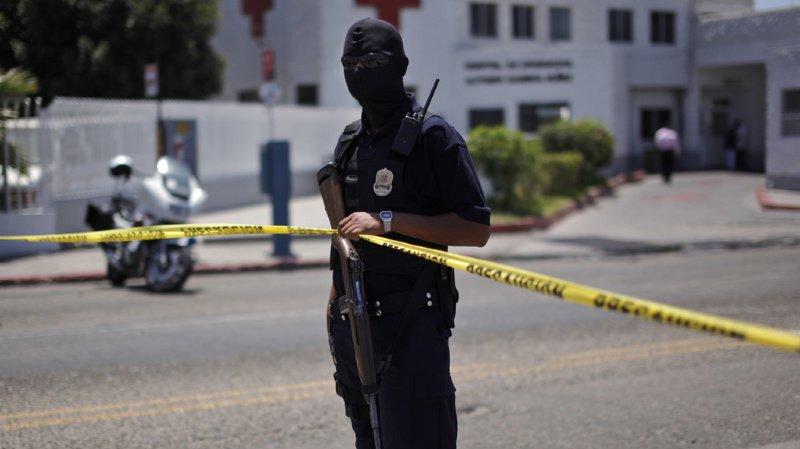 Les forces de l'ordre mexicaine n'ont jamais réussi à endiguer le flot de violence dû à la guerre entre narcotrafiquants, qui cherchent à contrôler les points de passage vers les USA. (illustration)