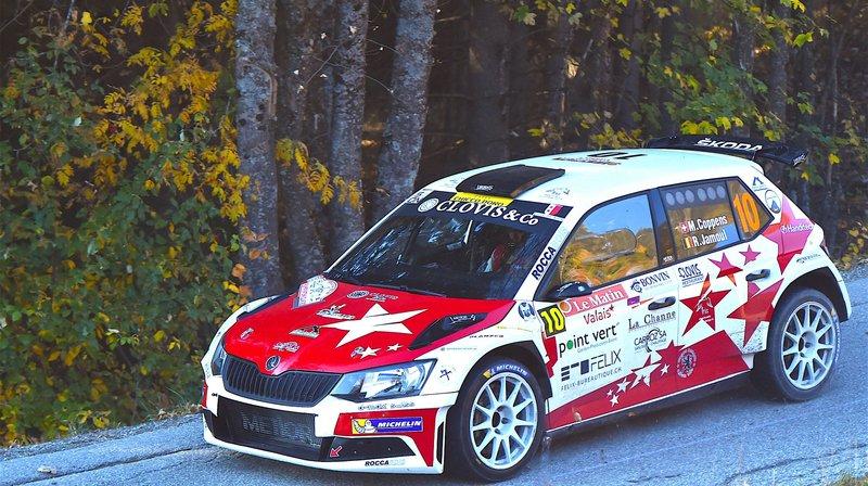 Mike Coppens est en forme à moins d'un mois du Rallye international du Valais.