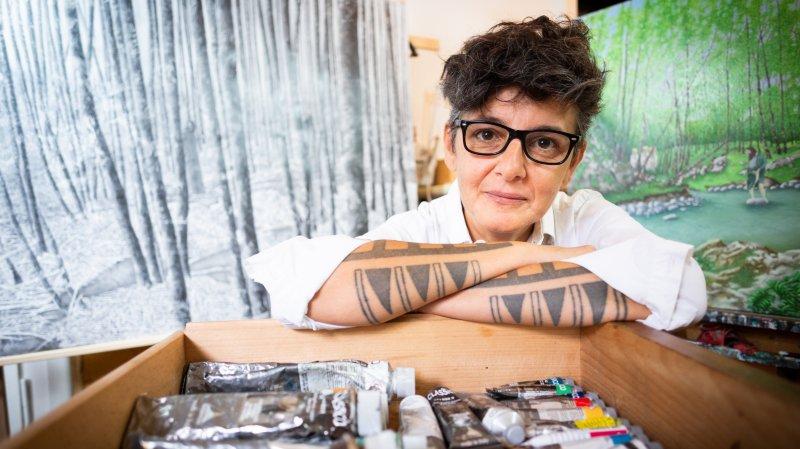 Liliana Salone, les toiles du mystère